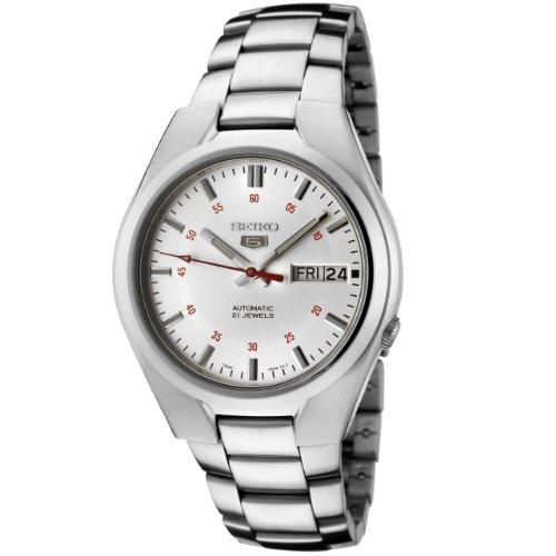 Seiko Men's SNK613 Seiko 5 Automatic Silver Dial Stainless Steel Watch