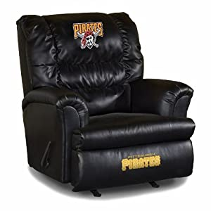 MLB Pittsburgh Pirates Big Daddy Leather Recliner by Imperial