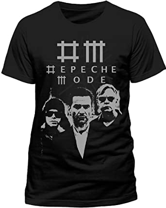 Live Nation - T-shirt Homme Depeche Mode - Black Photo - Noir (Black) - Small