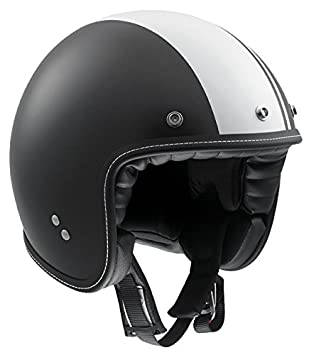AGV Helmets 1101A2C0_007_M Casque de Moto, Noir, Taille M