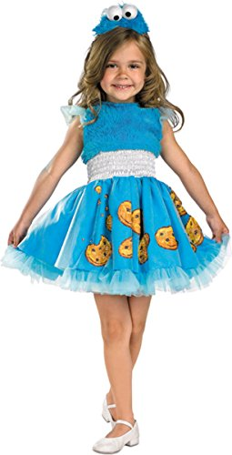 Morris Costumes COOKIE MONSTER FRILLY 4-6