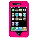 Amzer 83075 Polished Hot Pink Snap On Crystal Hard Case For IPhone 3G S, IPhone 3G
