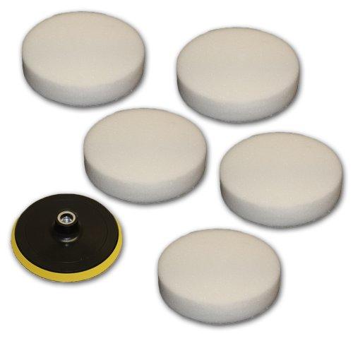 tectake-5x-esponjas-para-maquina-de-pulidora-conjunto-de-esponjas-de-180mm-plato-pulir