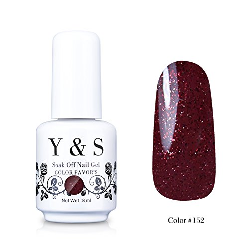 Yaoshun-Gelpolish-Soak-off-Gel-Nail-Polish-UV-LED-Nail-ArtBeauty-Care-8ml-152