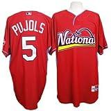(マジェスティック)Majestic MLB #5 アルバート・プホルス オールスター 2009 クールベース BP ジャージ(ナショナル・リーグ)