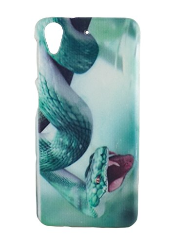 RedMango Soft Silicone Graphic Back Cover Case for HTC DESIRE 626 - Cobra