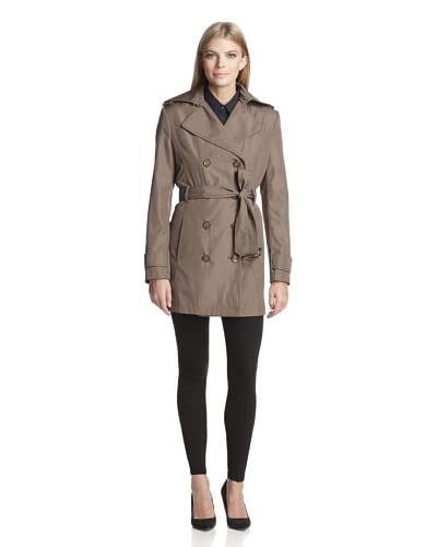 Calvin Klein Women's Double-Breasted Trench
