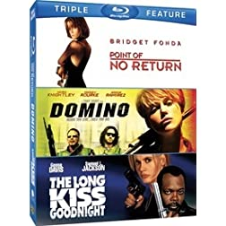 Point of No Return / Domino / Long Kiss (Triple-Feature) [Blu-ray]