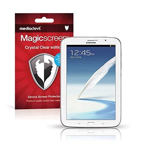 MediaDevil Samsung Galaxy Note 8 / 8.0 Pellicola Protettiva: Crystal Clear (Invisibile) - (2 x Pellicole Frontali) Magicscreen