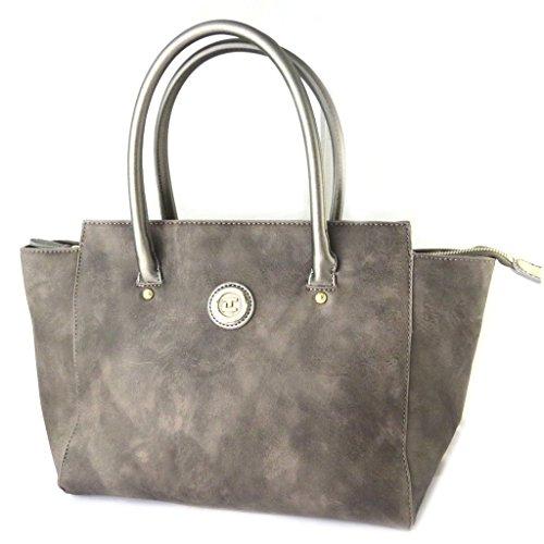 Bag designer 'Ted Lapidus'marrone vintage - 42x26.5x12.5 cm.