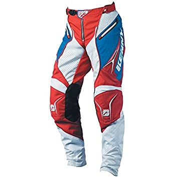 Kenny Motocross Pantalon - Titane - bleu-blanc-rouge