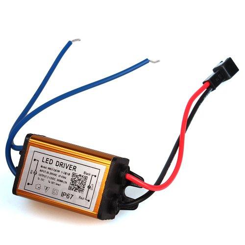 2X Waterproof Led Light Bulb Driver Transformer Power Supply 1-3W Golden