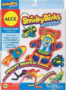 Alex Toys Shrinky Dinks Kit, Cool Stuff
