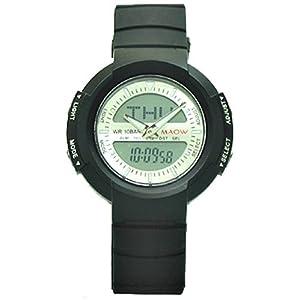 マオ MAOW 腕時計 アナデジ HM717-BK2 ユニセックス