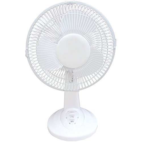 OPTIMUS OPSF0930, 9-Inch Personal Oscillating Table Fan