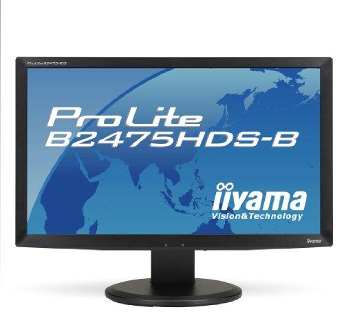 iiyama B2475HDS B ProLite 24 inch LED Monitor - Mat Black