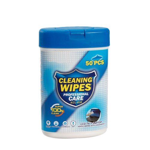 Olymstore(Tm) 50Pcs Professional Care Gently Cleaning Wet Wipes For Lcd Screen, Keyboard, Cell Phone