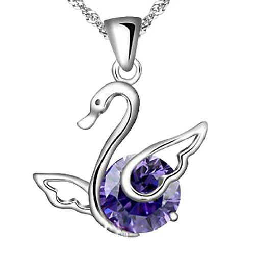 the-elegance-of-swan-purple-sterling-silver-pendant-necklace