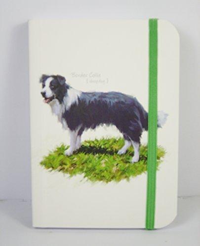 border-collie-macneil-pedigree-pals-cahier-petits-chiens-bloc-de-correspondance-avec-sangle-taille-d