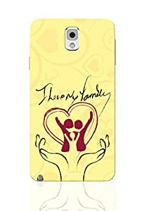Sowing Happiness Printed Back Cover for Samsung Galaxy Note 3