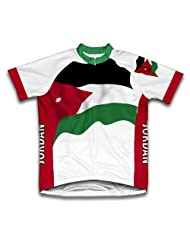 Jordan Flag Short Sleeve Cycling Jersey for Women