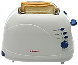 Butterfly AG-001D Toaster (White)