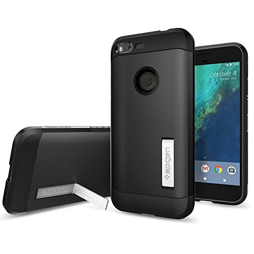 Spigen-Tough-Armor-Google-Pixel-XL-Case-with-Kickstand-and-Heavy-Duty-Air-Cushion-Technology-Protection-for-Google-Pixel-XL-2016-Black