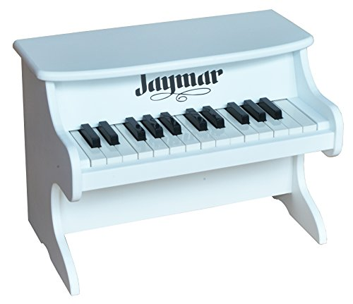 Jaymar 25 Key Table Top Piano (White) (Tabletop Piano compare prices)