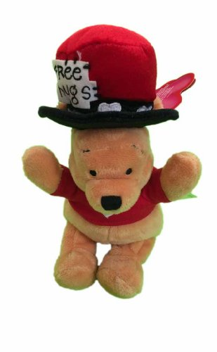 Valentines Winnie the Pooh Bean Bag Plush - 1