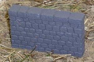 Stone Wall Small 3ea 28mm Miniature Terrain