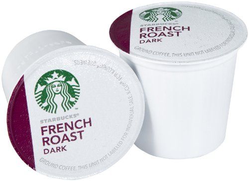Starbucks French Roast 10 K-cups. - 1
