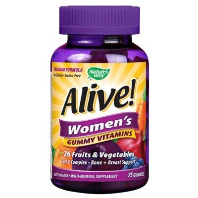 Nature's Way, Alive! Women's Gummy Vitamins, 75 Gummies