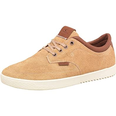 Mens O'Neill Contour Suede Shoes Cappuccino Guys Gents (45 UK 10.5 ...