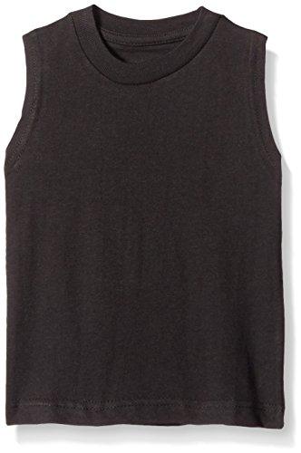 American Hawk Big Boys 3 Piece Pack Muscle T-Shirt, Black/Black/Black, 10/12 (Black Muscle)