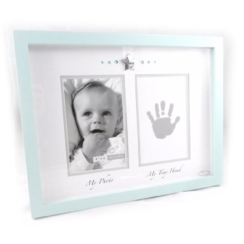 "Picture Frames ""Mon Ange"" + Customizable Blue Ink."