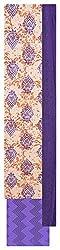 Mahek Fashion Women's Cotton Unstitched Dress Material (Purple, Beige and Orange)