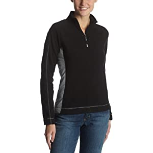 ALO Women's Micro Fleece 1/4 Zip Pullover