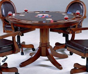 Hillsdale Furniture 6125GTB Warrington Game Table, Rich Cherry