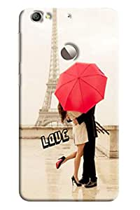 Clarks Printed Designer Back Cover For LeTv Le1s