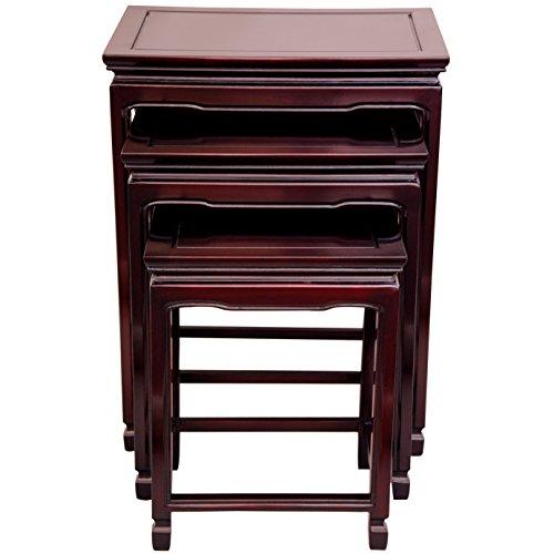 Sensational Oriental Furniture Nightstand Alternative 26 Inch 3Pc Set Theyellowbook Wood Chair Design Ideas Theyellowbookinfo