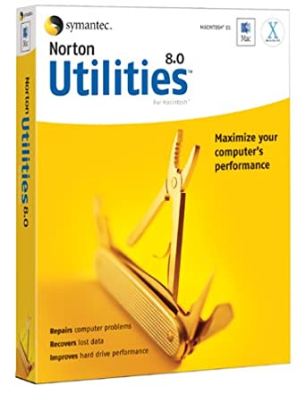 Norton Utilities for Mac 8.0
