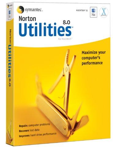Norton Utilities For Mac 8.0 front-889289