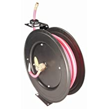 Astro Pneumatic 3688 3/8-Inch by 50-Foot Deluxe Hose Reel, Automatic Rewind