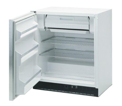 Marvel Scientific 8Crf7103 General Purpose Combination Refrigerator/Freezer With Door Lock, Door Type Solid, Door Hinge Left, Door Color White, Cabinet Color White front-441674