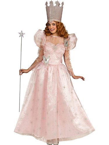 Rubies Womens Deluxe Glinda Wizard of Oz Halloween Costume