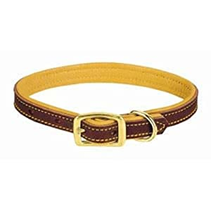 Collar 1 In. X 21 In., 19 In., 23 In. Leather Brown