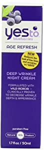 Yes To Blueberries Deep Wrinkle Night Cream, 1.7-Fluid Ounce