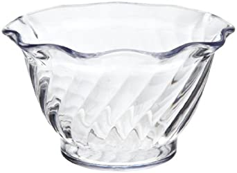 Carlisle 453007 Clear 5 Oz. Tulip Dessert Dish (Case of 24)