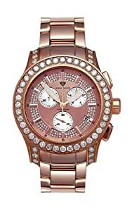 Aqua Master Men's Masterpiece Diamond Watch with Diamond Bezel, 8.00 ctw