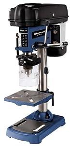 Einhell BTBD 401 Säulenbohrmaschine, 350 W, Spindeldrehzahl 5802.650 min1, BohrØ 1,513 mm, Bohrtiefe 50 mm, stufenlose Tischhöhenverstellung  BaumarktKritiken und weitere Informationen